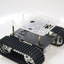 A Double-layer Robot Tank Car Chassis Platform for Arduino, Raspberry Pi, and Nodemcu.