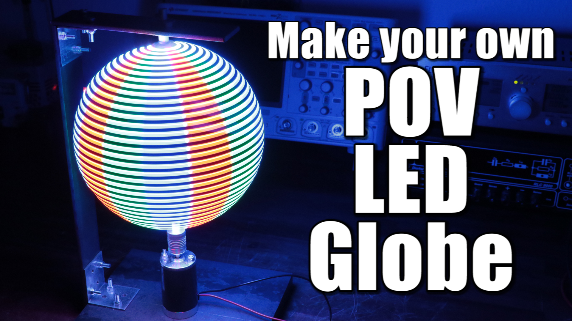 Picture of Make Your Own POV LED Globe