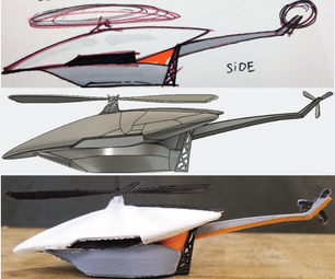 From Sketch to CAD to 3D Print