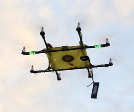 Octocopter,  AIO pro flight controller A2212 motors