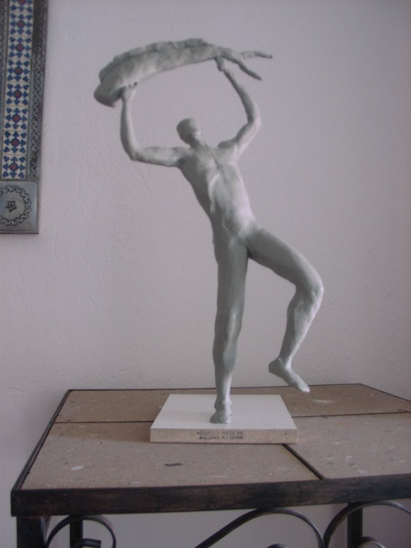 Picture of how to make a monumental figurative sculpture?