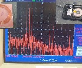 EMC - Radiated Emissions Tool Sensor