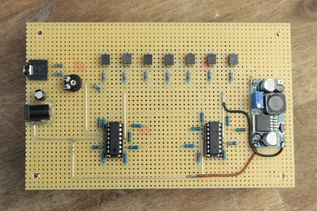 Build the LED Sign and the Circuit!