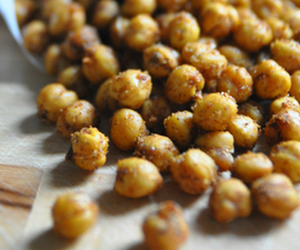 How To Make Spicy Roasted Chickpeas
