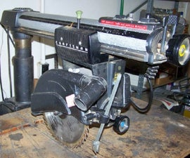 The Radial Arm Saw -- a Guide of Sorts