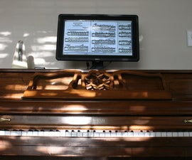 Digital Music Stand: Raspberry Pi + Touchscreen
