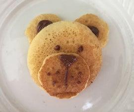 Cute Pancake Bear (not Big Skills Needed)