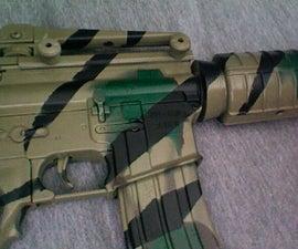 M16/M4A1 Camouflage Airsoft Gun