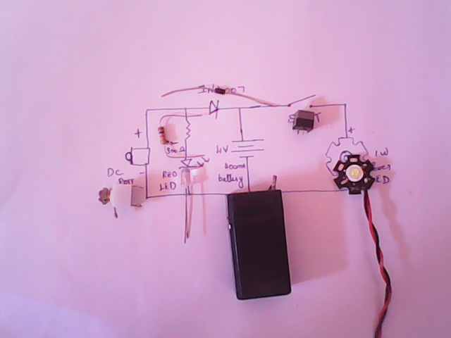 Picture of MAKE THE RECHARGEABLE LIGHT