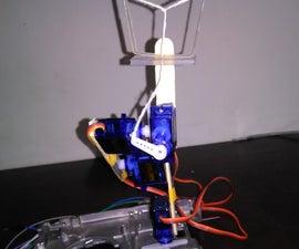 Servo Robotic Arm Arduino Based