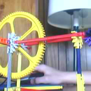 Knex RUBBER BAND motor and/or knex gun