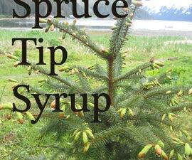 Spruce Tip Syrup