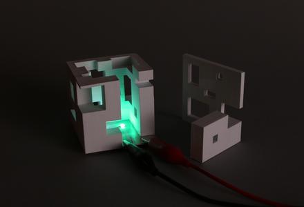 Printed Paper Lamp