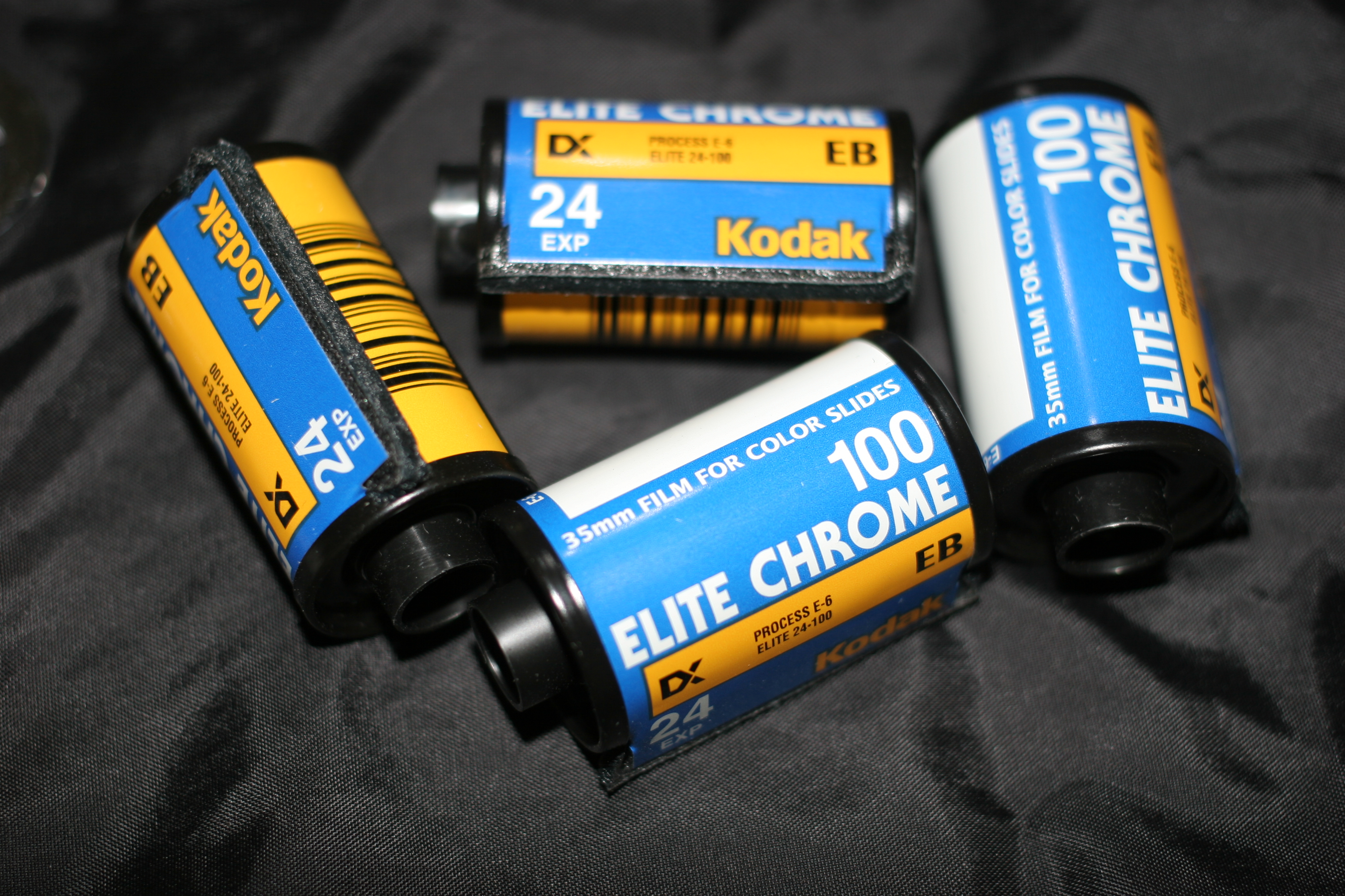 Picture of Develop Slide Film With C-41 Chemicals AKA E-6(-)