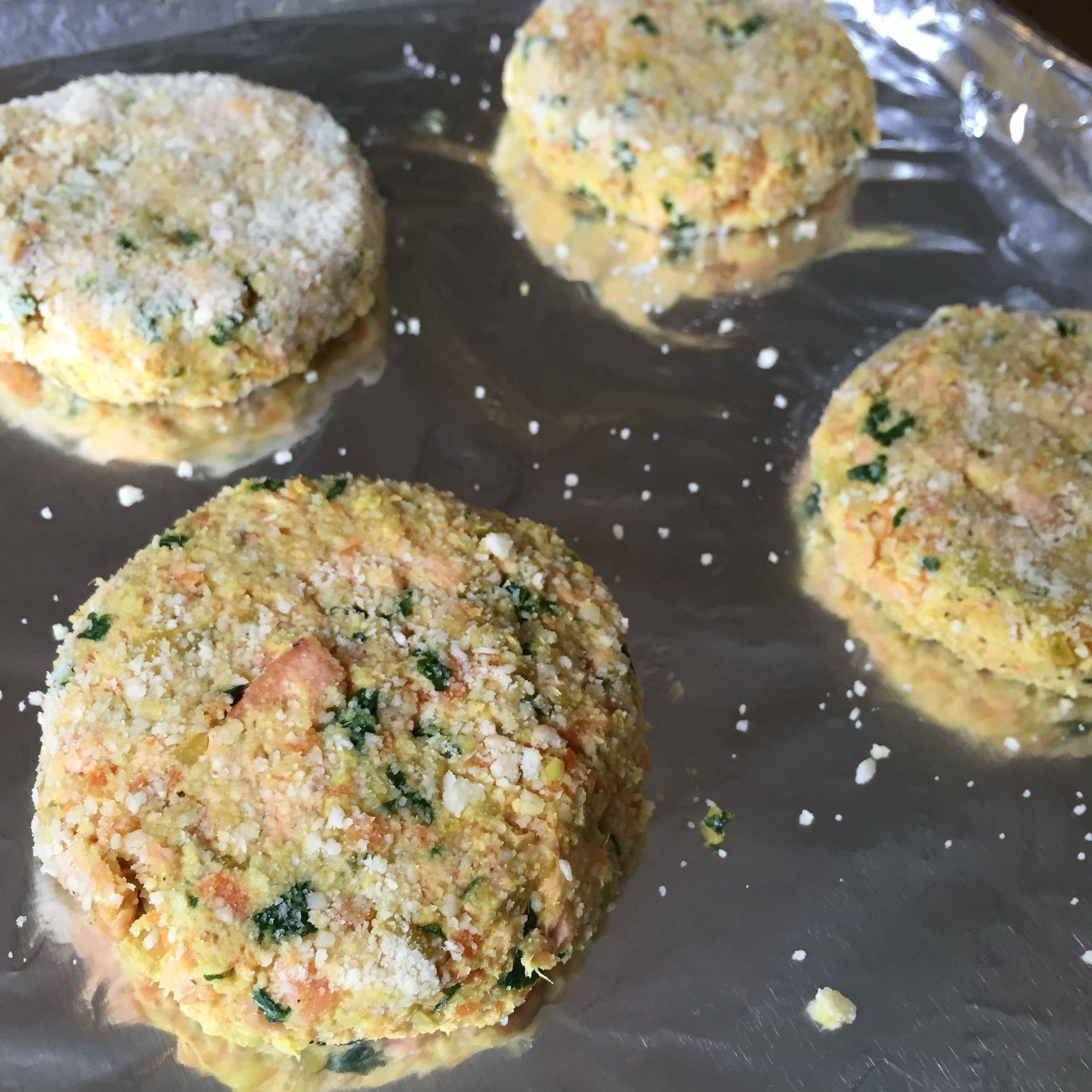 Picture of Cooking the Salmon Cakes