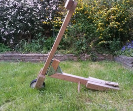 DIY Wooden Scooter