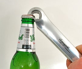 Bicycle Crank Bottle Opener