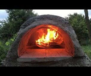Vermikulite Dome Garden Pizza Oven