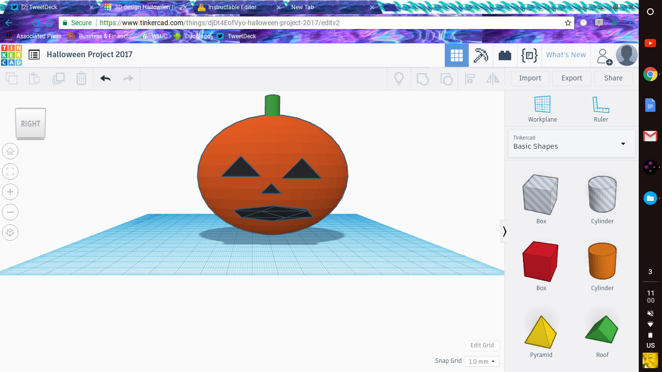 Picture of Halloween Project 2017