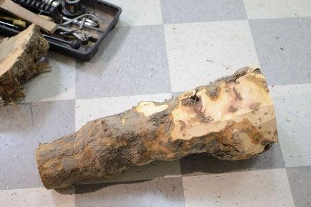 Cut the Log to Make a Blank