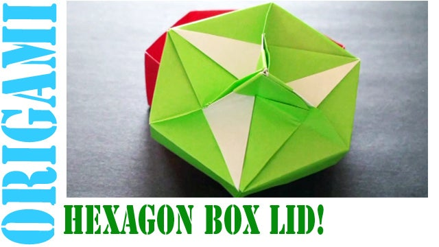 Origami GIFT BOX with Cover - Easy - YouTube | 360x640