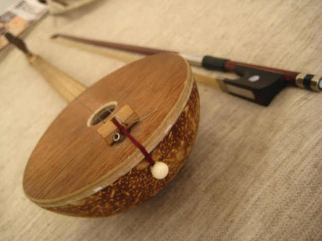 Picture of Coconut Er-hu (mongolian Violin)