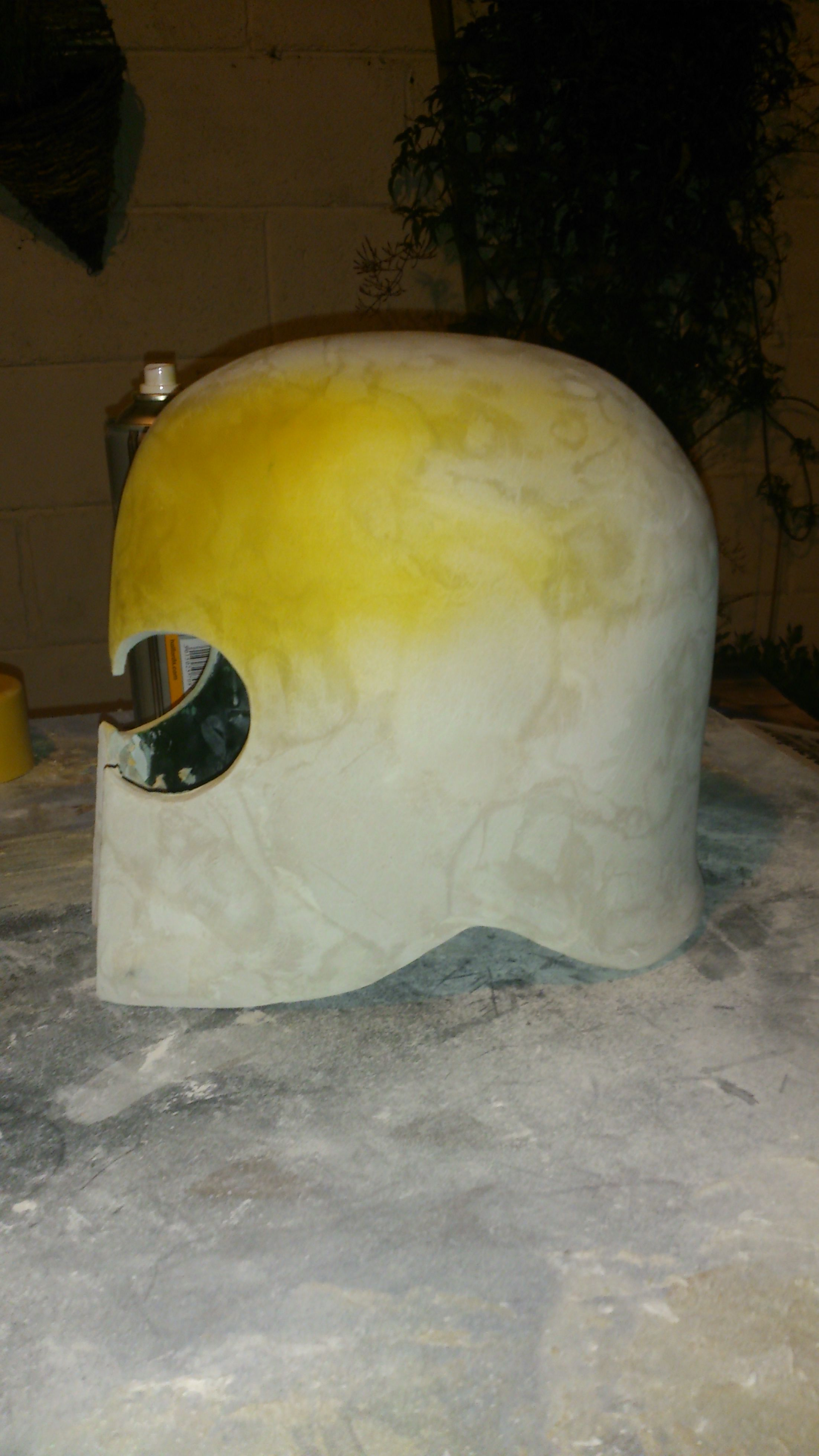 Picture of Adding the Layers of U-pol Poly Filler