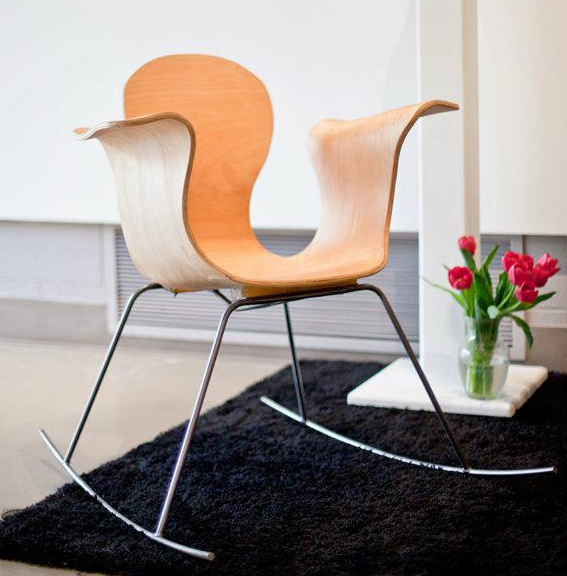 Picture of From Model to Mold, a Bent Plywood Chair