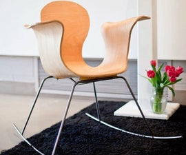 From Model to Mold, a Bent Plywood Chair
