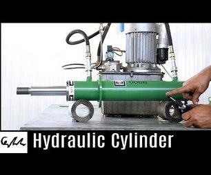 Making Hydraulic Cylinder
