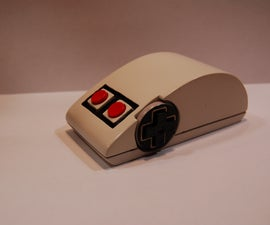 wireless mouse in a nes gamepad 3