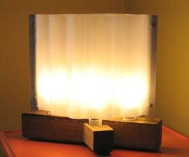 Small eco-footprint living room light