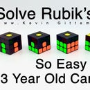 How to Solve a Rubik's Cube Easy