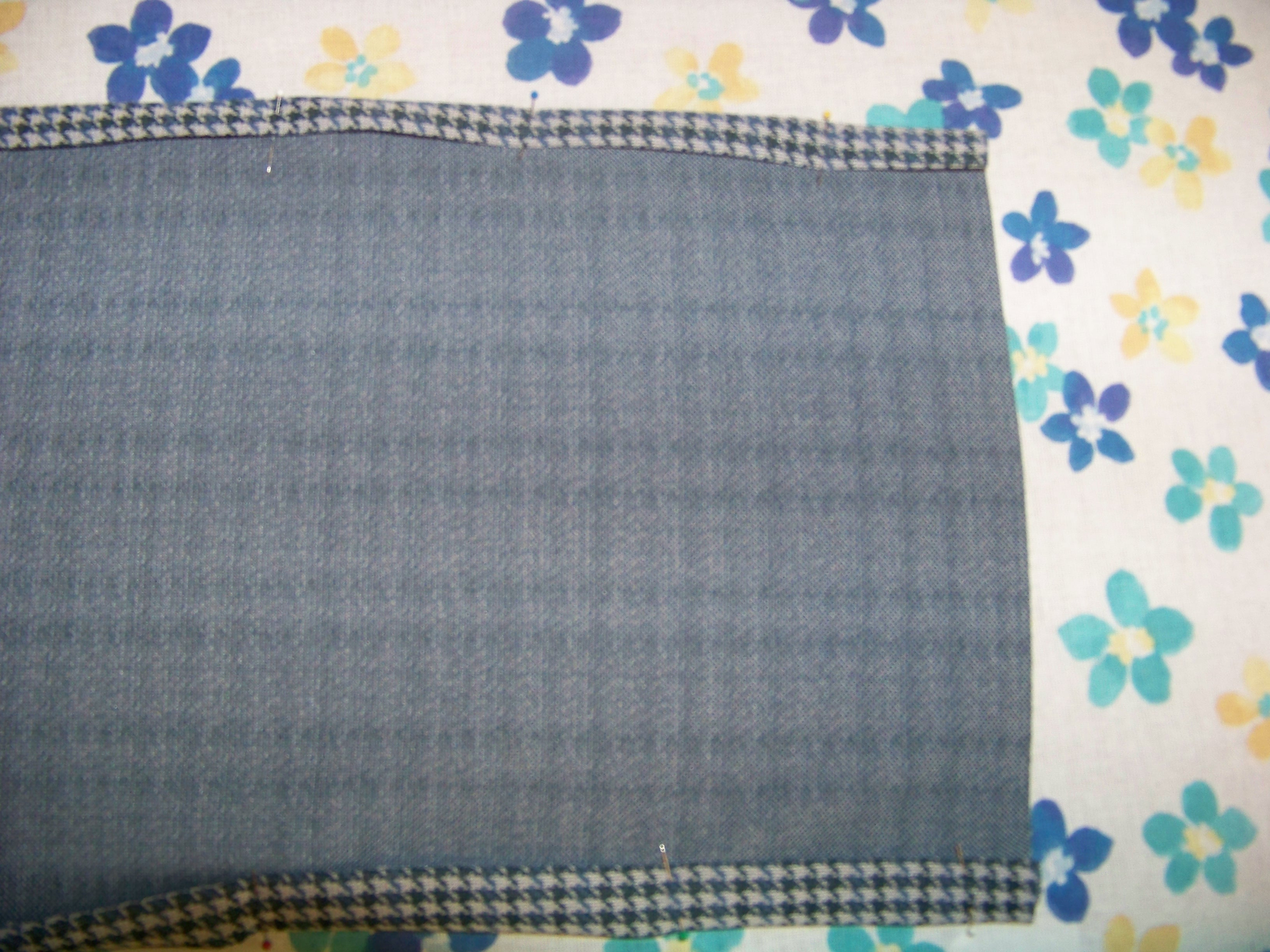Picture of Fold, Press, and Sew the Top and Bottom