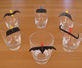 Moustache Glass Markers