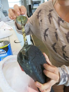 Place and Glue in the Toe