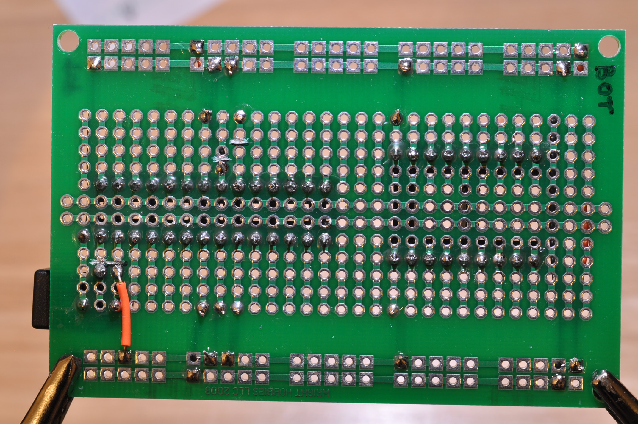 Picture of Solder the VCC Wires