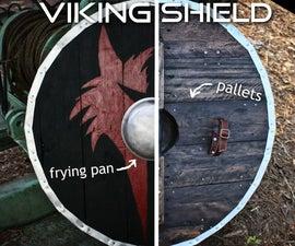 Pallet Wood Viking Shield (Make It Medieval-Ish)