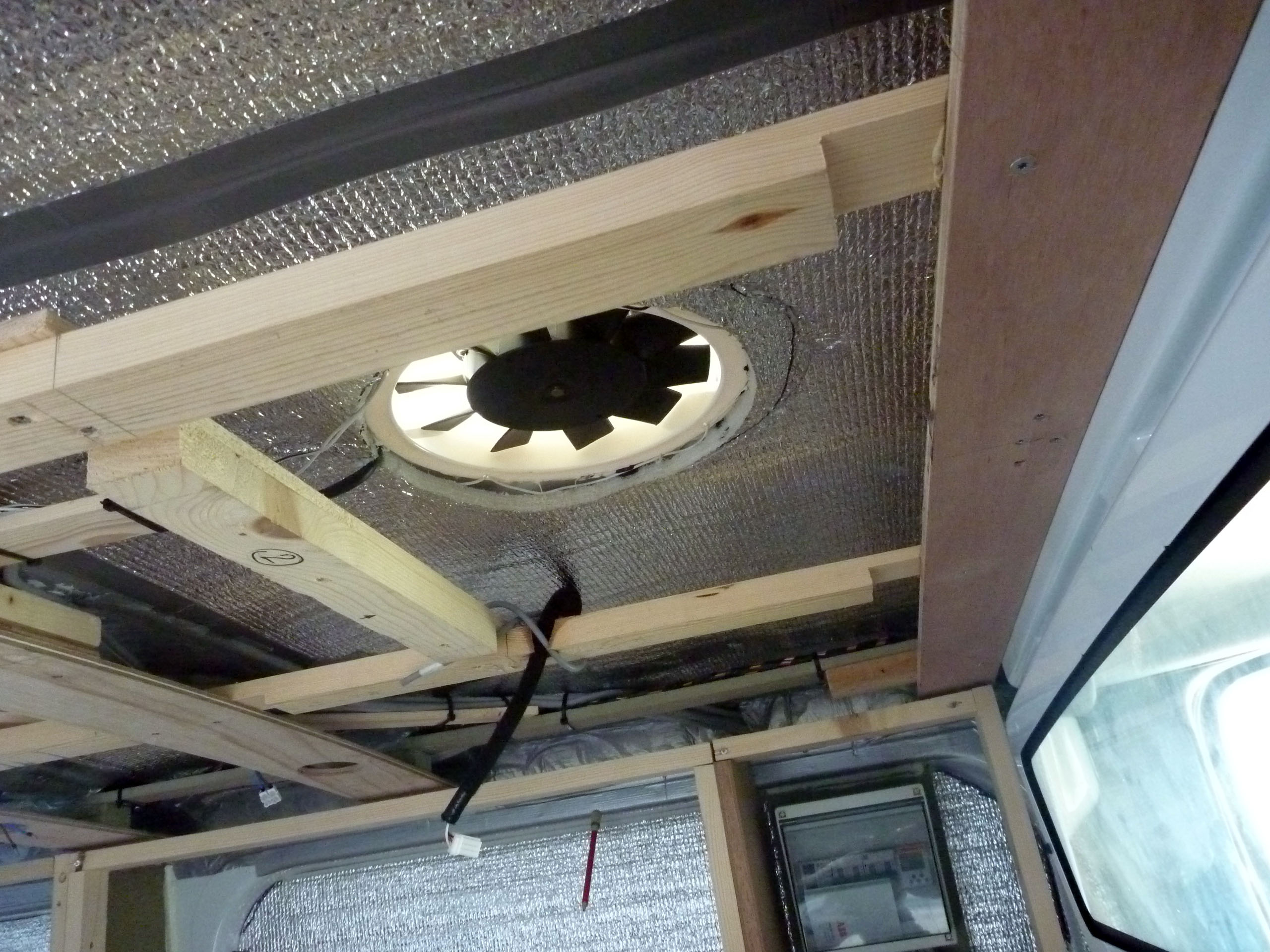 Picture of Insulating / Electricity / Ventilation