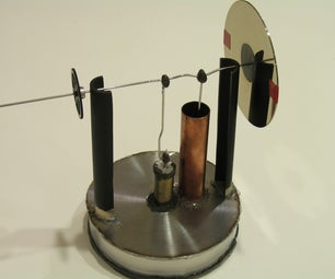 The Stirling Engine, absorb energy from candles, coffee, and more!