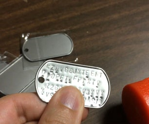 DIY Bitcoin Cold Storage: Stamping Stainless Steel Dog Tags