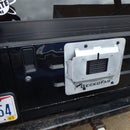 Jeep Wrangler License Plate Relocation Plate