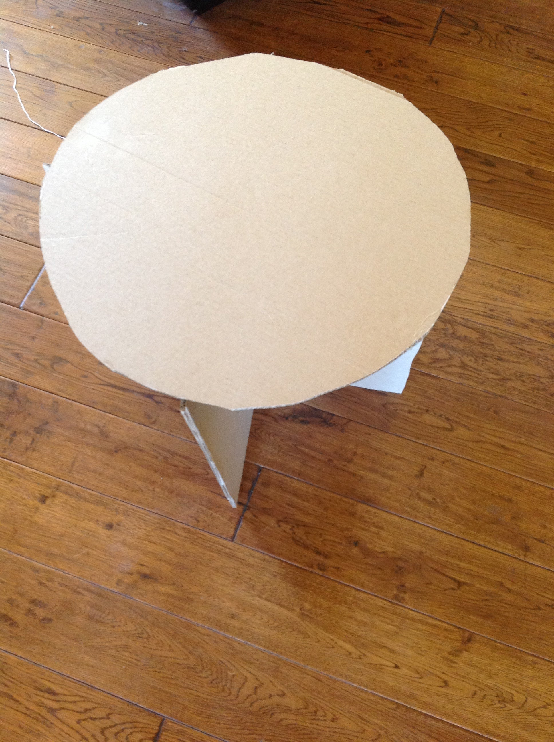 Make A Cardboard And Duct Tape Table 9 Steps