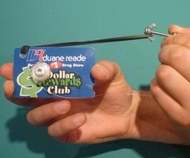Credit Card Grappling Hook