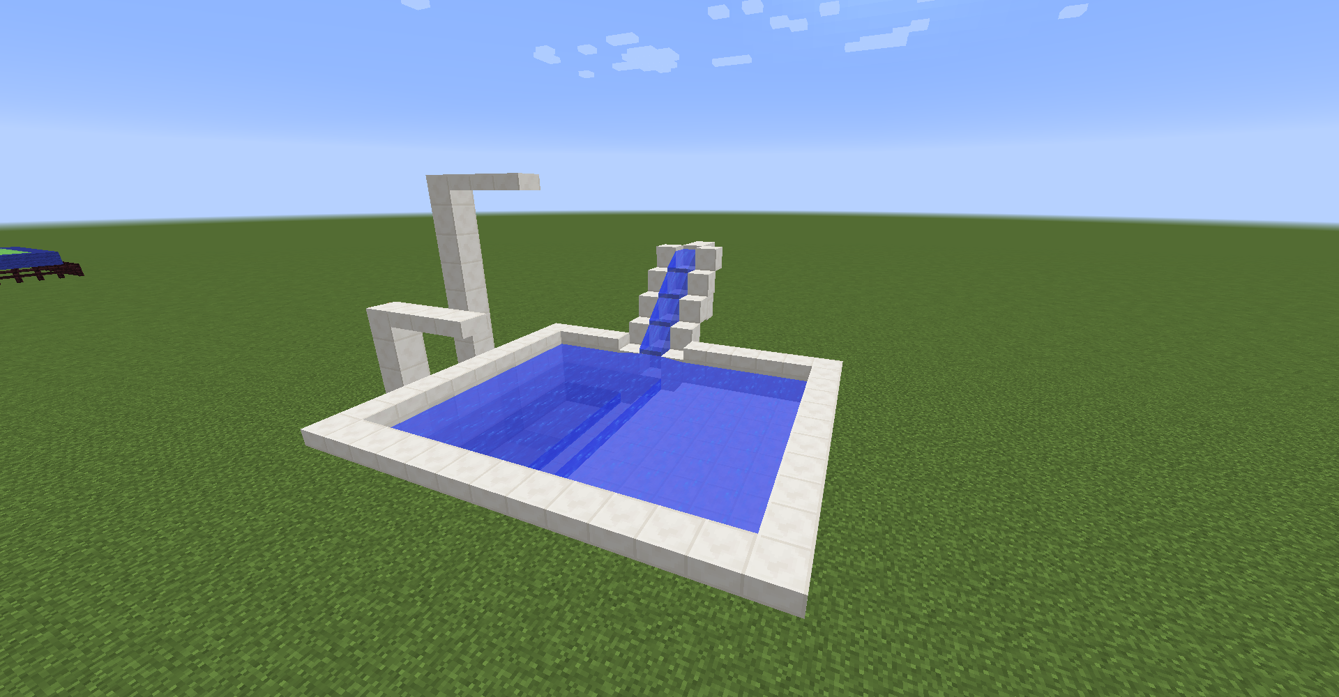 Picture of How to Make a Cool Minecraft Pool!