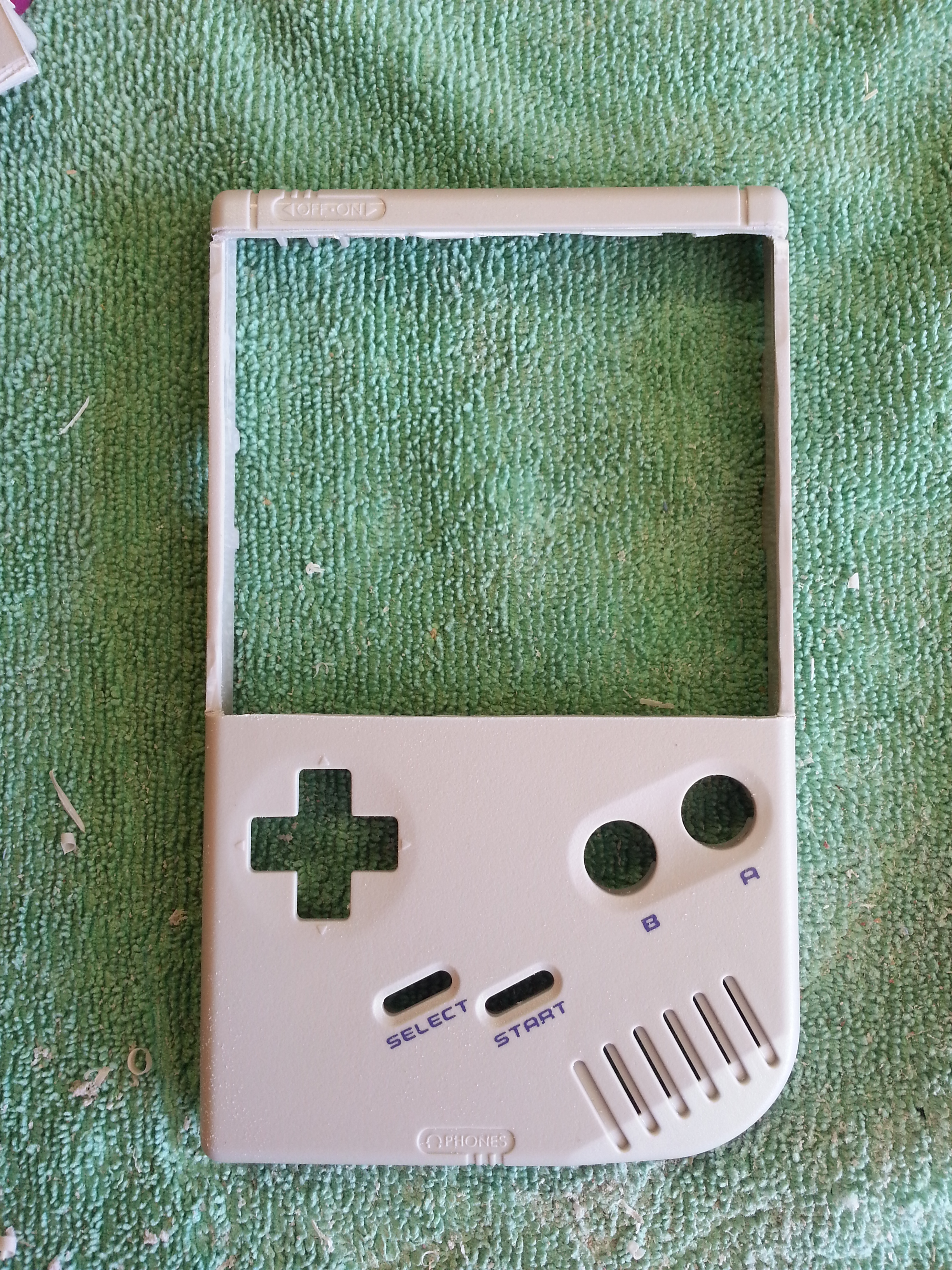 Picture of Game Boy Mod - Front Half