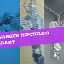Secret Garden (upcycled) Key Pendants