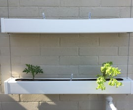 Vinyl Post Hanging Planter Boxes