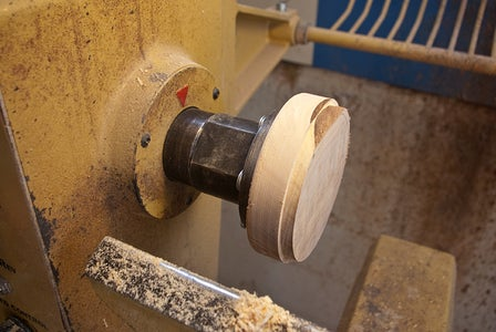 Turn and Fit Wood to Glass