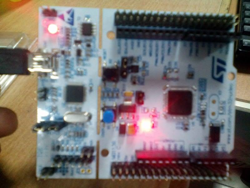 Picture of STM32F103 Blink LED (using Keil and STMCubeMX)